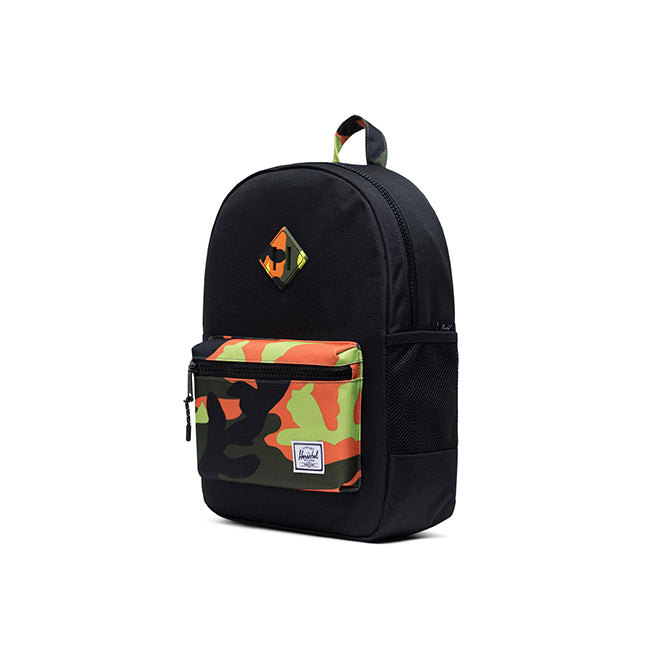 Herschel Heritage Youth Black/Neon Camo