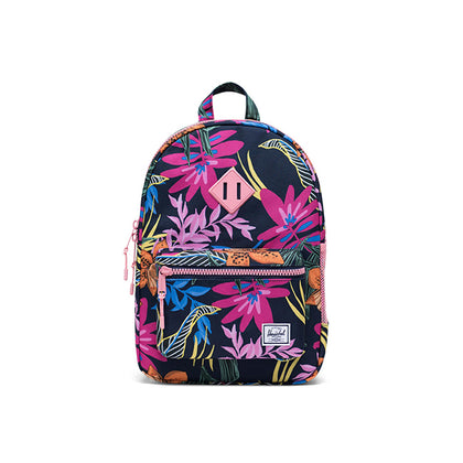 Herschel Heritage Youth Jungle Floral Peacoat Peony
