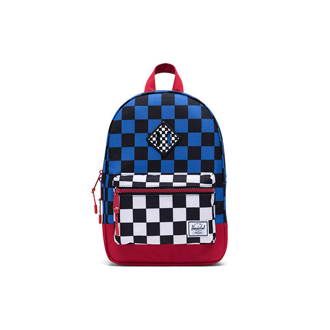 Herschel Heritage Kids Backpack - Multi Check Amparo Blue/Red/Black White Checker