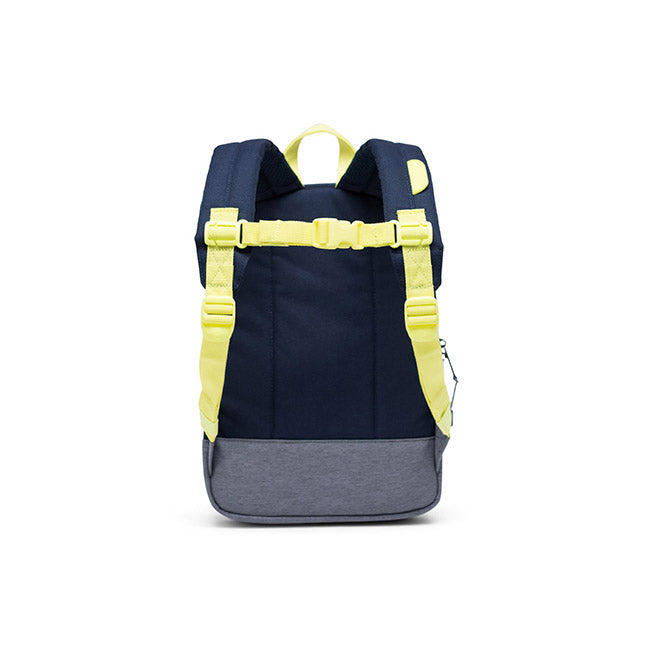 Herschel Heritage Kids Backpack - Peacoat/Highlight/Mid Grey Crosshatch