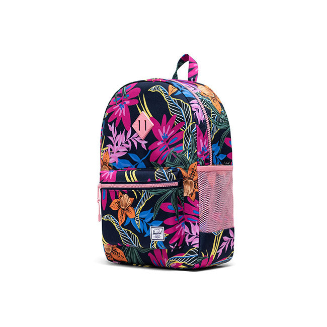 Herschel Heritage Youth X-Large Jungle Floral Peacoat Peony