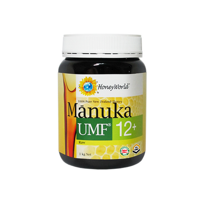 HoneyWorld Raw Manuka UMF 12+ 1 kg