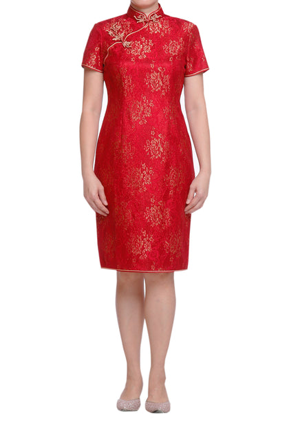 i-Shanghai Glimmers of Brilliance Cheongsam