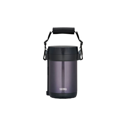 Thermos 2.0L Stainless Steel Vacuum Insulation Lunch Tote - Midnight Blue