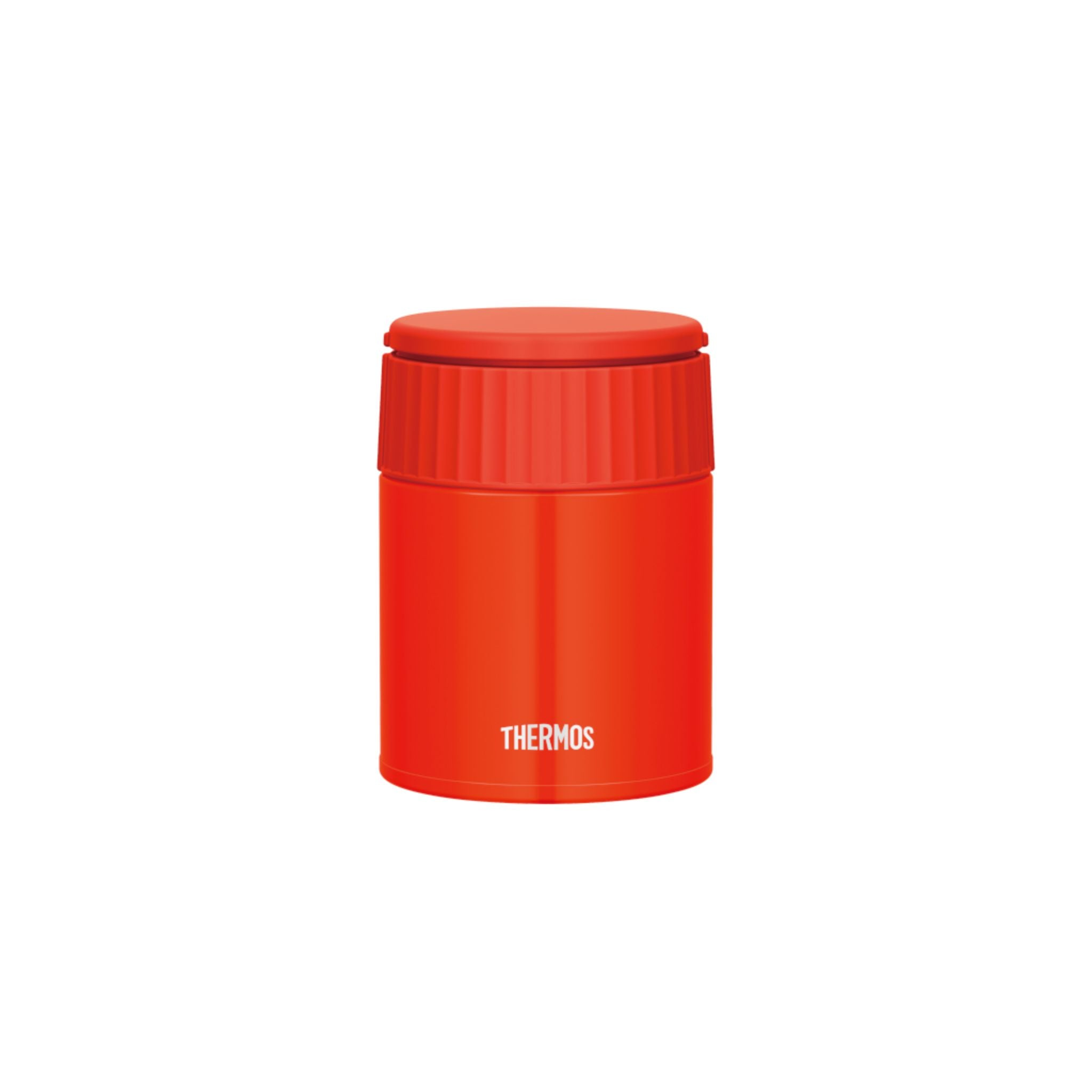 Thermos 0.4L Stainless Steel Vacuum Insulation Food Jar - Tomato