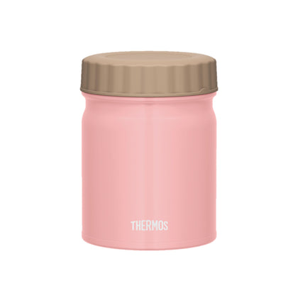 Thermos 0.4L Stainless Steel Vacuum Insulation Food Jar - Light Pink