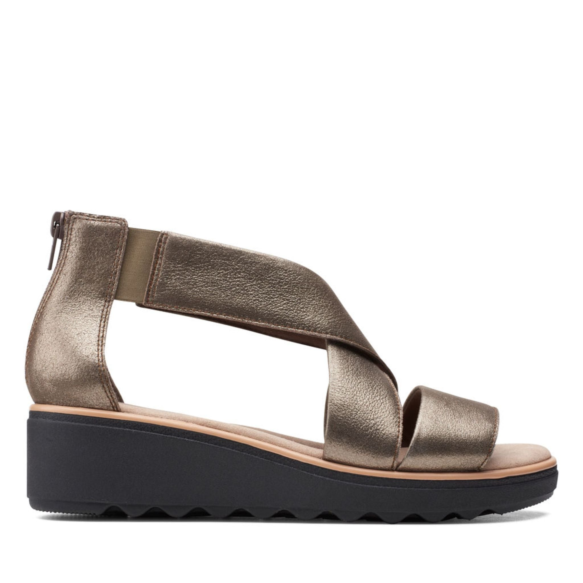 Clarks Collection Jillian Rise Metallic Leather