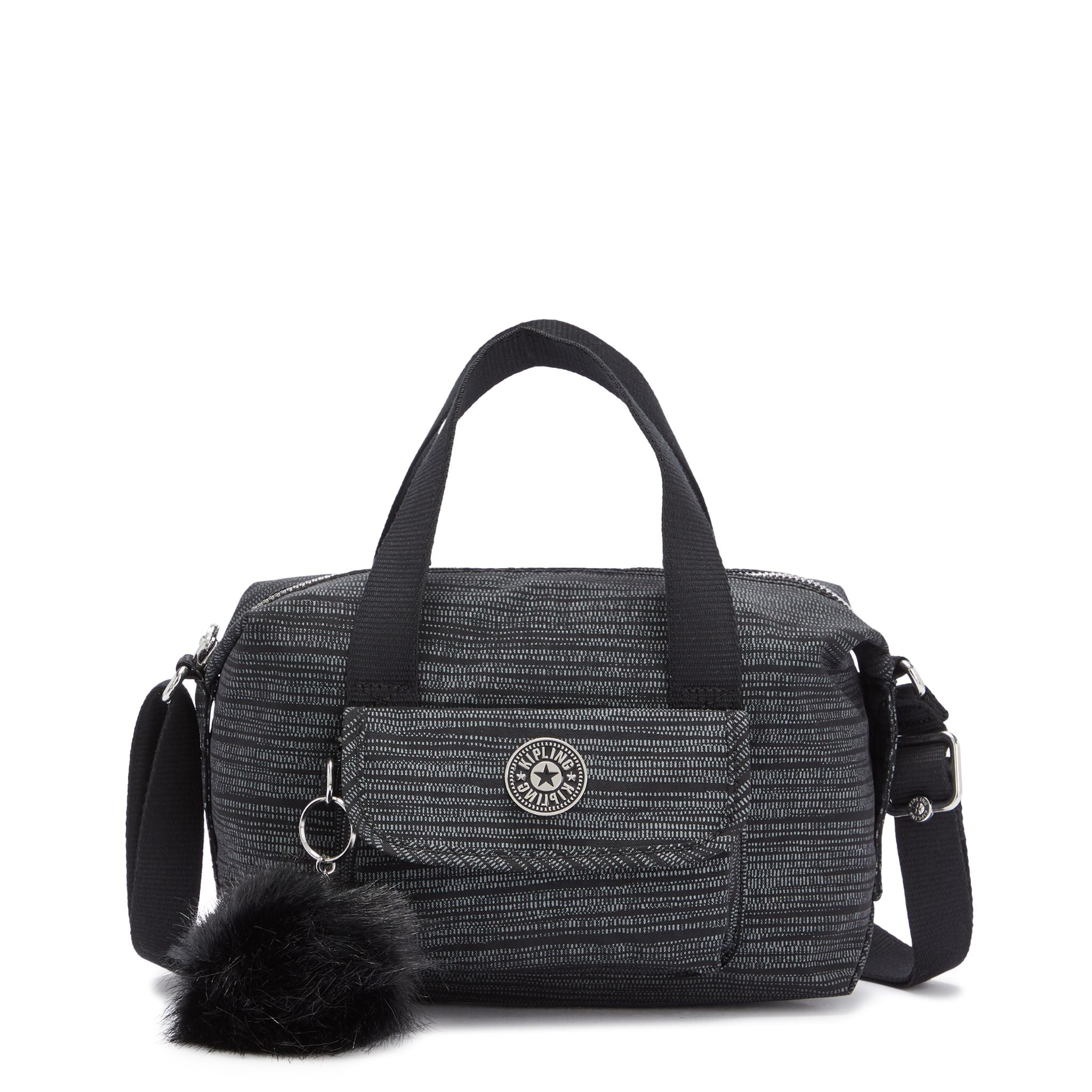 Kipling Brynne Zipper Cross Bl