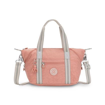 Kipling Art Cocktail Pink Tote