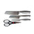 Kukeri 4-pc Knife & Scissors Set