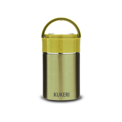 Kukeri 1L Double Wall Vacuum Insulated Food Jar - Green