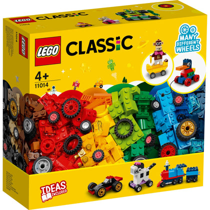 LEGO Classic : Bricks and Wheels 11014