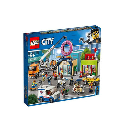 Lego City Donut Shop Opening 60233