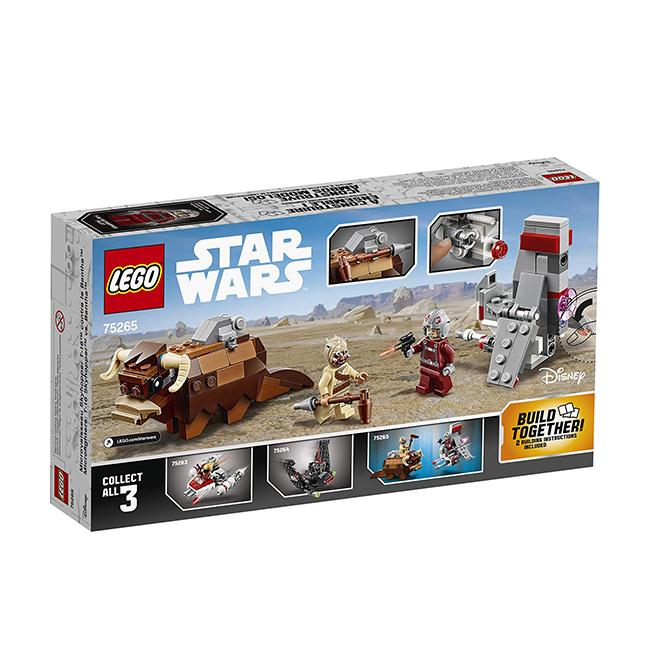 Lego Star Wars : A New Hope T-16 Skyhopper vs Bantha Microfighters 75265