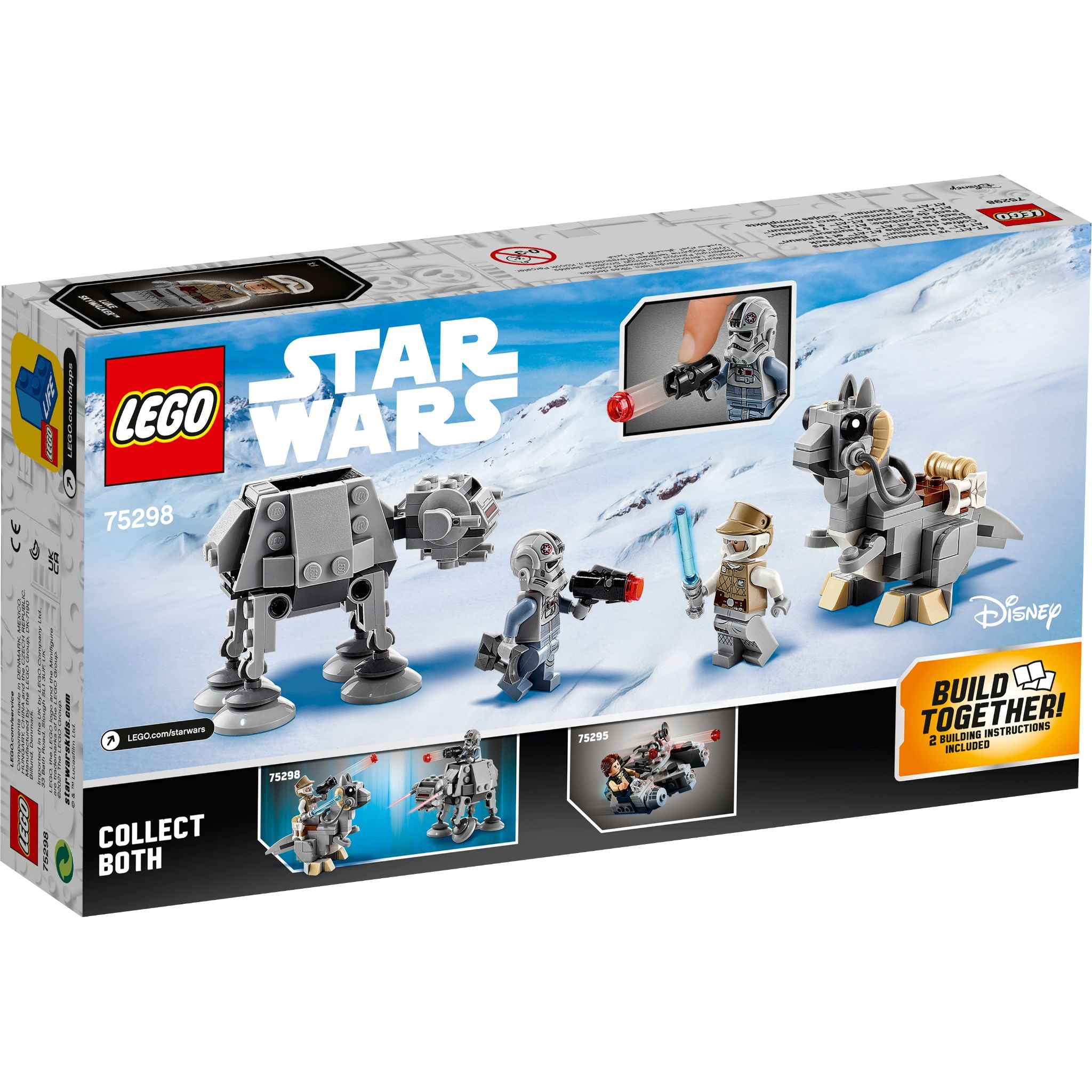 LEGO Star Wars : AT-AT™ vs. Tauntaun™ Microfighters 75298