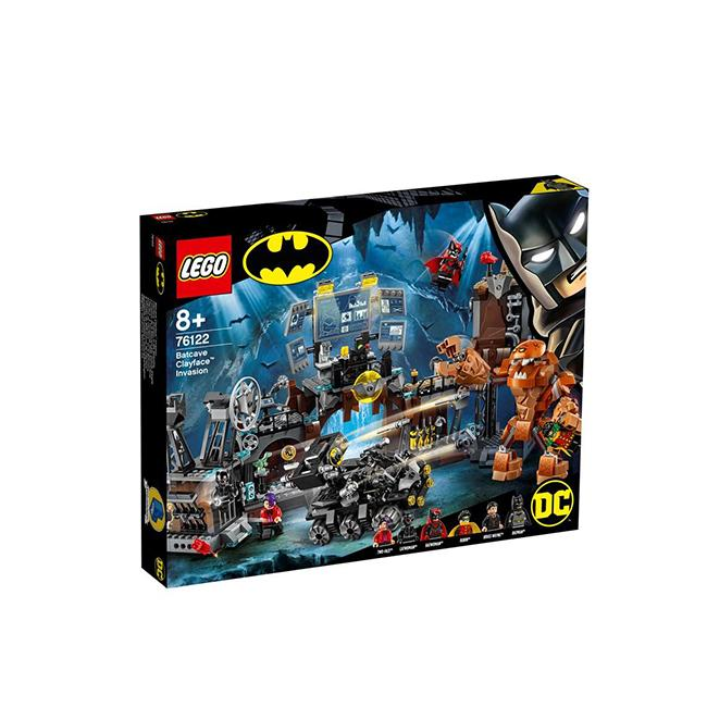 LEGO DC Super Heroes Batman Batcave Clayface™ Invasion 76122