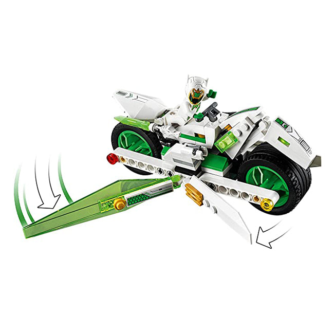 Lego Monkie Kid White Dragon Horse Bike 80006