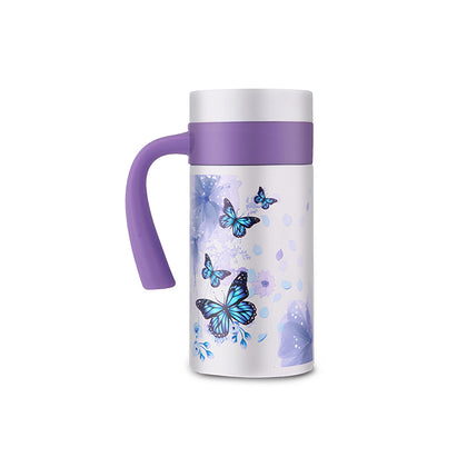 La Gourmet Butterfly Garden 450ml Thermal Mug