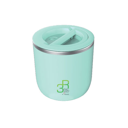 La Gourmet Sassy 1100ml Thermal Insulated Round Lunch Box - Turquoise