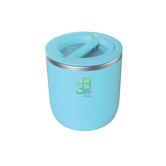 La Gourmet Sassy 1100ml Thermal Insulated Round Lunch Box - Blue