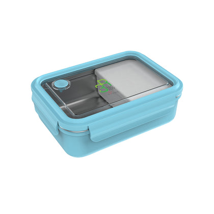 La Gourmet Sassy 800ml Rectangular Lunch Box - Blue