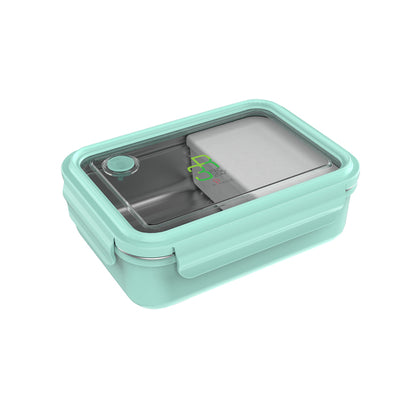La Gourmet Sassy 800ml Rectangular Lunch Box - Green