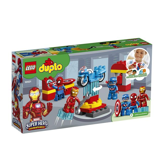 Lego Duplo Marvel Super Heroes Lab 10921