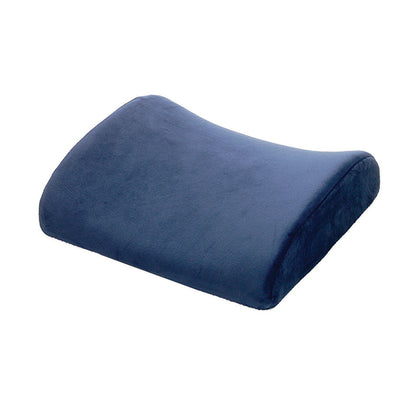 Ortho Living Memory Foam Lumbar Support Cushion - Navy