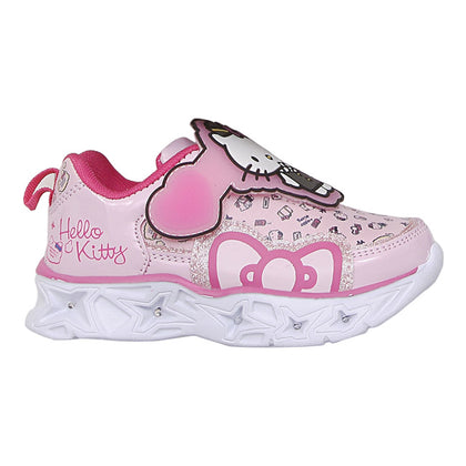 Hello Kitty Girls' Lighted Sports Shoes