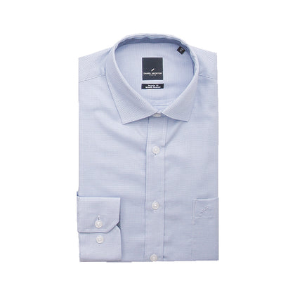 Daniel Hechter Long-Sleeved Shirt - Light Blue