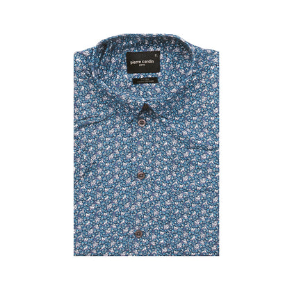 Pierre Cardin Short-Sleeved Shirt - Floral