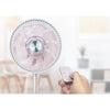 "Mistral 12"" High Velocity Fan with Remote Control - White"