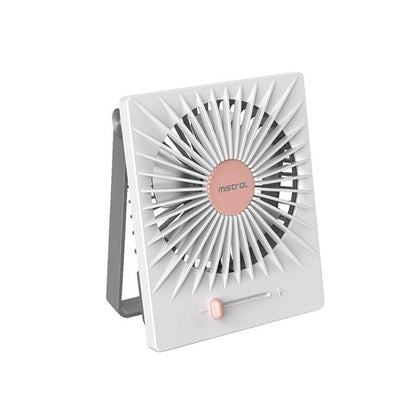 Mistral The Promise ll Rechargeable USB Fan