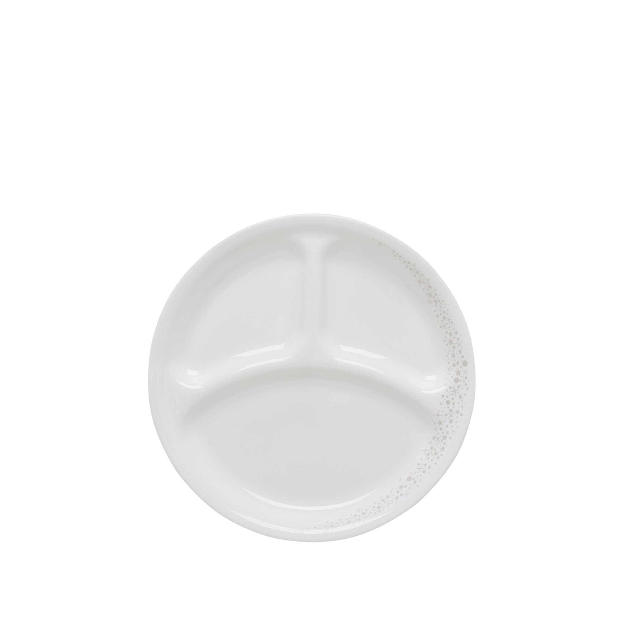 Corelle 21cm Divided Dish - Moonlight