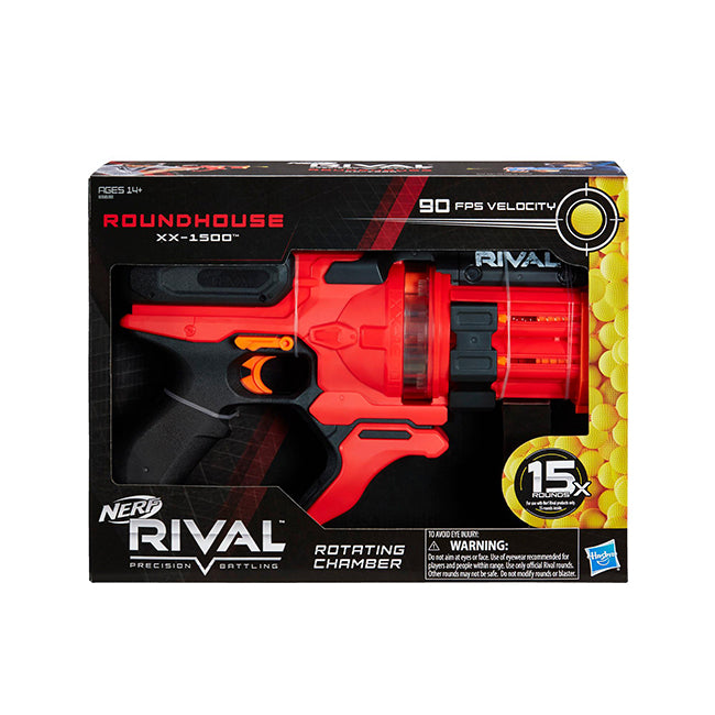 Hasbro Nerf Rival Roundhouse XX 1500 - Red