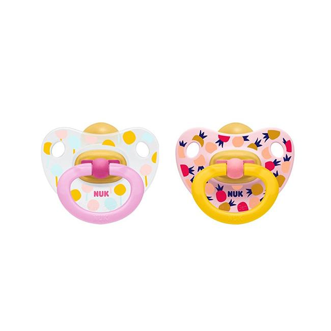 Nuk Happykids Latex Soother (0-6M)