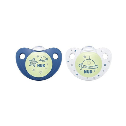 Nuk Night & Day Silicone Soother (0-6M)