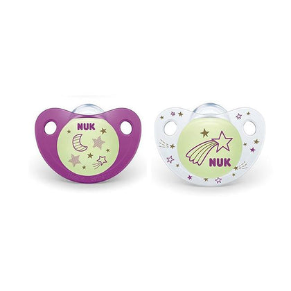 Nuk Night & Day Silicone Soother (6-18M)