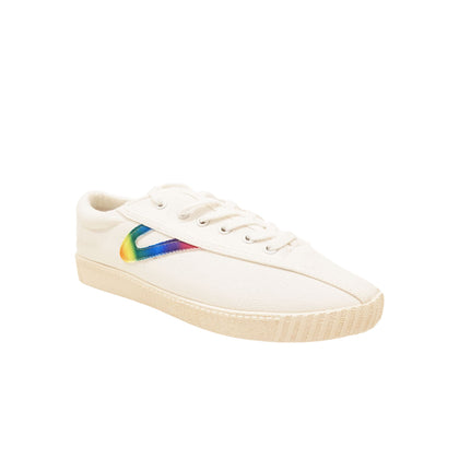 Tretorn Nylite (Women) - White/Rainbow