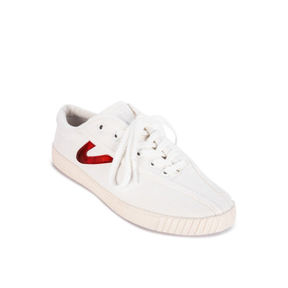 Tretorn Nylite (Women) - White/PVC Red