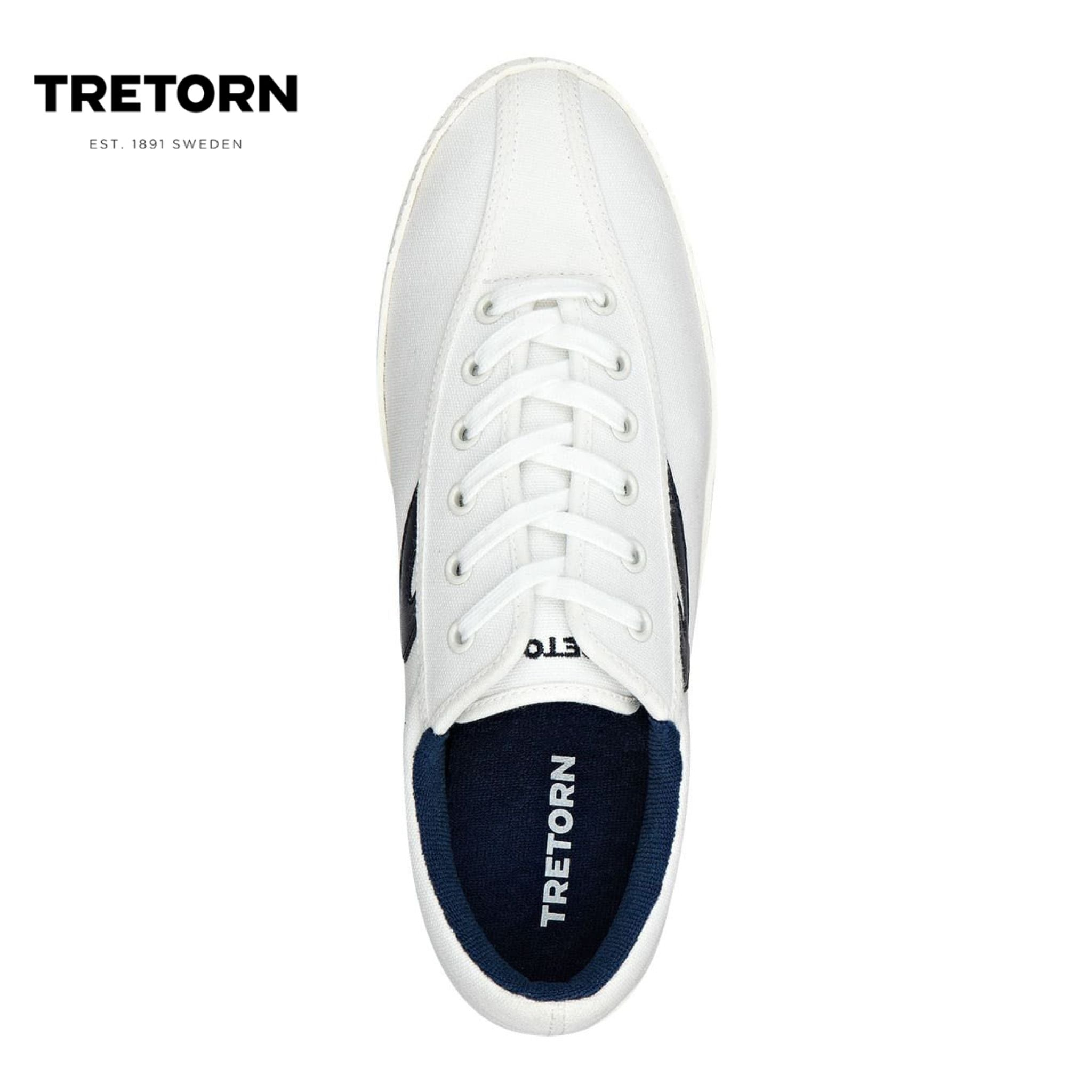 Tretorn Nylite Plus (Men) - White/Night