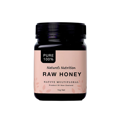 Nature's Nutrition Raw Honey 1KG