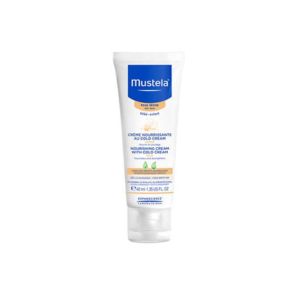 Mustela Nourishing Face Cream with Cold Cream 40ml