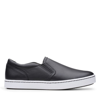 Clarks Collection Pawley Bliss Black Leather