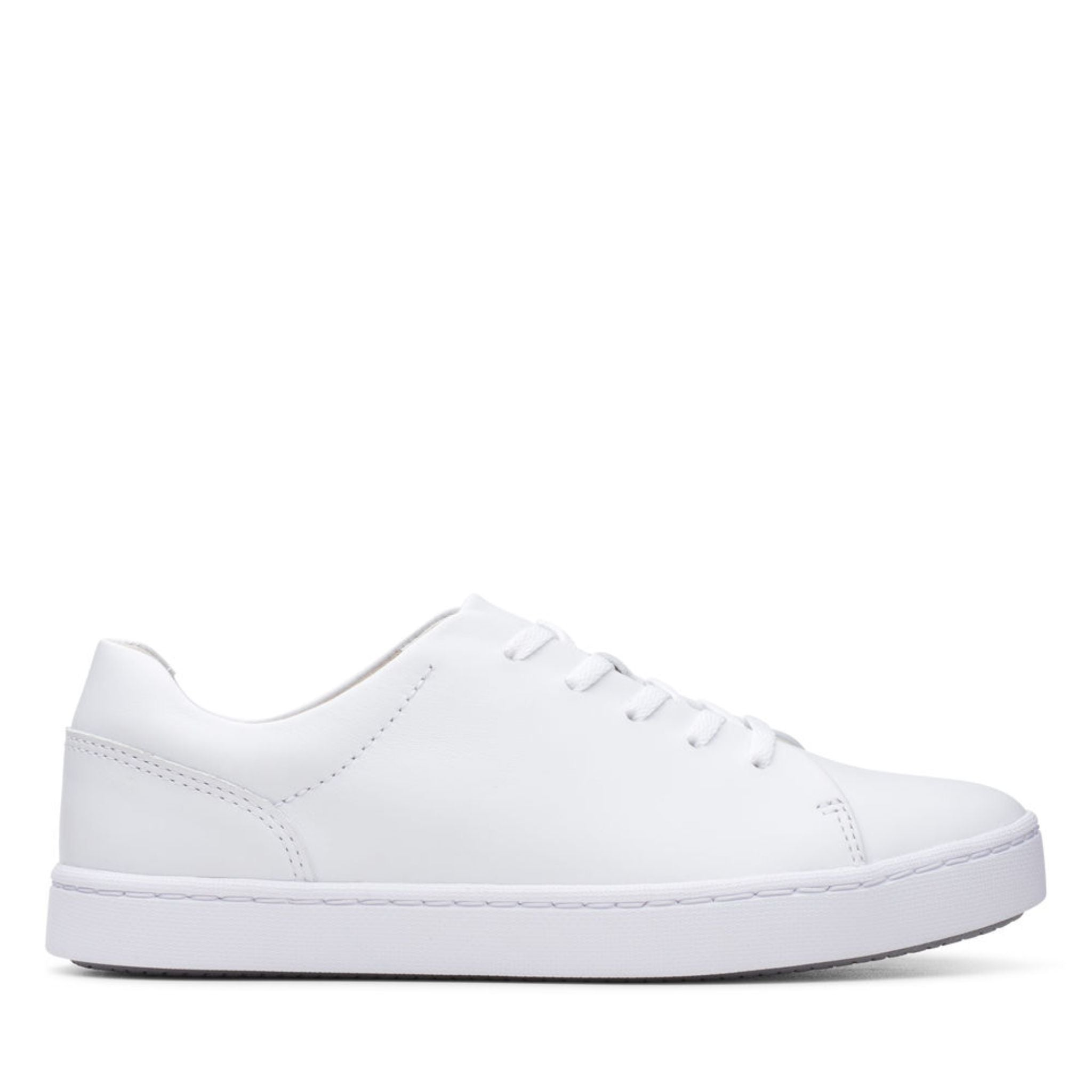 Clarks Collection Pawley Springs White Leather