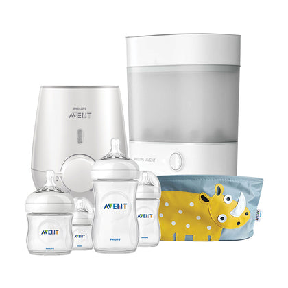 Philips Avent Steam Sterliser and Electric Bottle Warmer Bundle