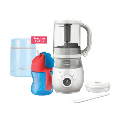 Philips Avent 4-in-1 Healthy Food Maker Bundle