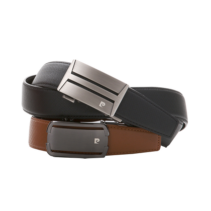 Pierre Cardin Auto-Lock Leather Belt