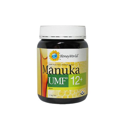 HoneyWorld Raw Manuka UMF12+ 1kg