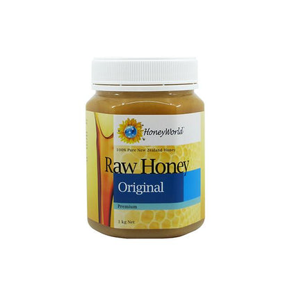 HoneyWorld Raw Honey Original Premium 1kg